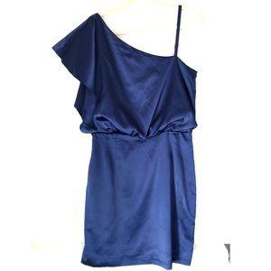 Jessica Simpson off the shoulder blue dress sz 10